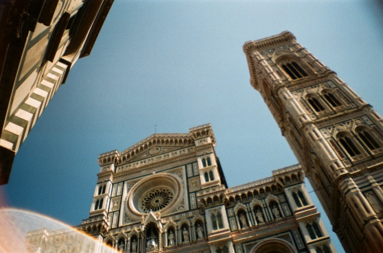 Duomo, Florence shot on 35mm film using a lomography La Sardina camera