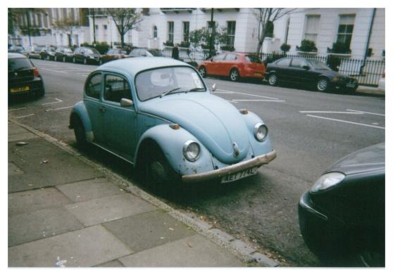 Old VW Beetle, London