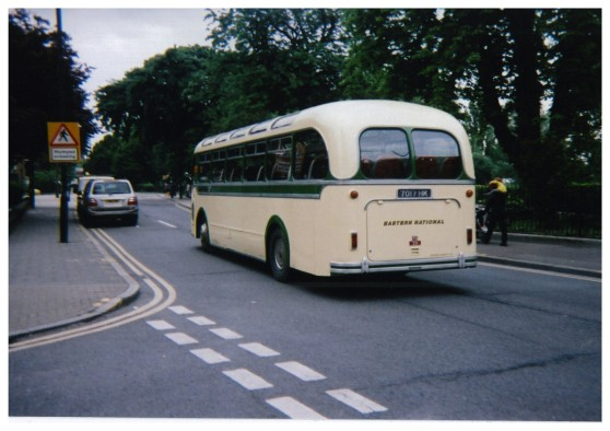 Eastern National classic bus
