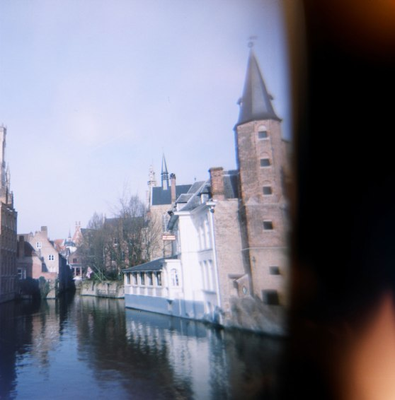 Bruges, Belgium | Taken on a Holga 120N film camera