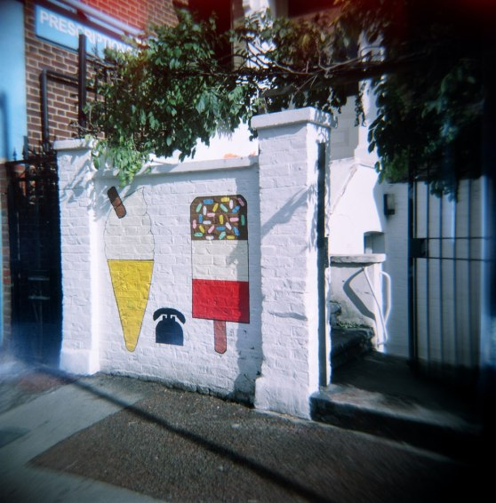 Photos taken on Kodak 120 film using a Holga 120N Lomography camera
