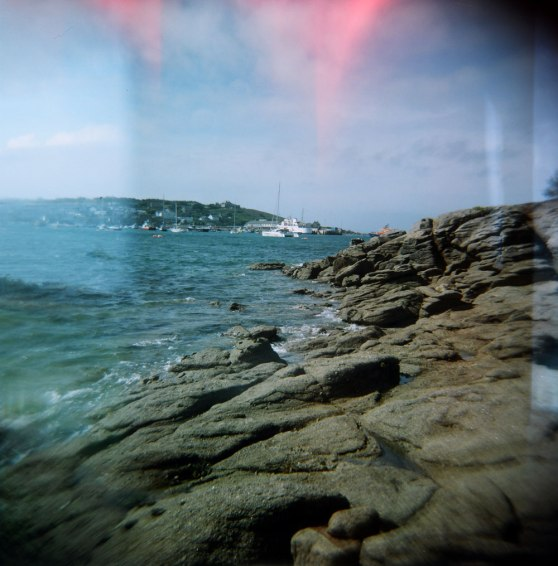 St Mary's, Isles of Scilly, England | Taken on a Holga 120N film camera