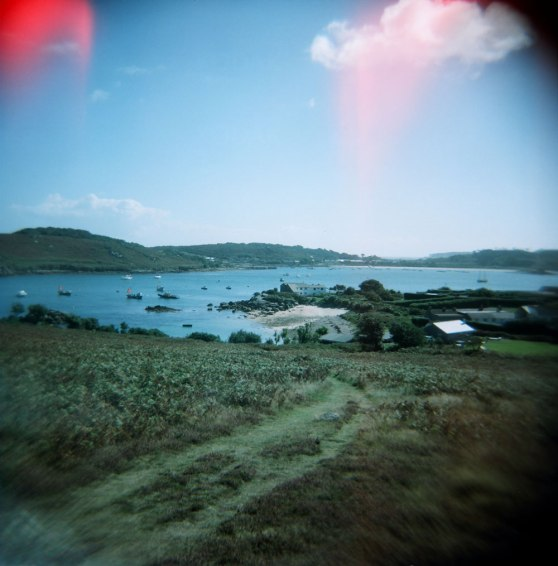 Bryher, Isles of Scilly, England | Taken on a Holga 120N film camera