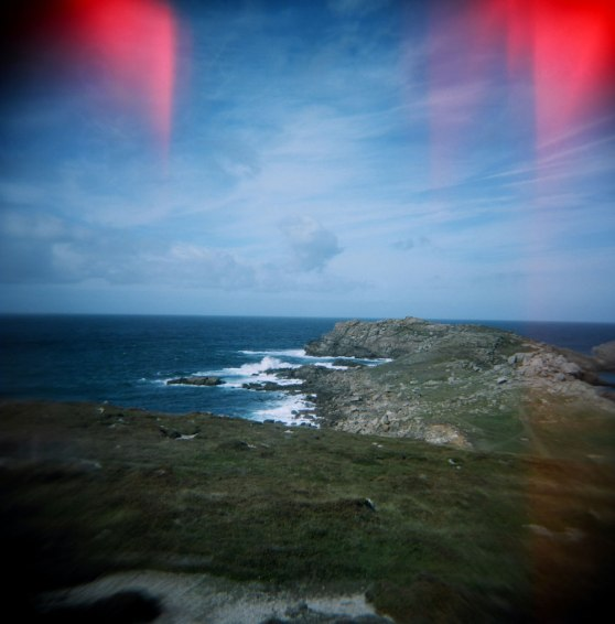 Hell Bay on Bryher island, Isles of Scilly, England | Taken on a Holga 120N film camera