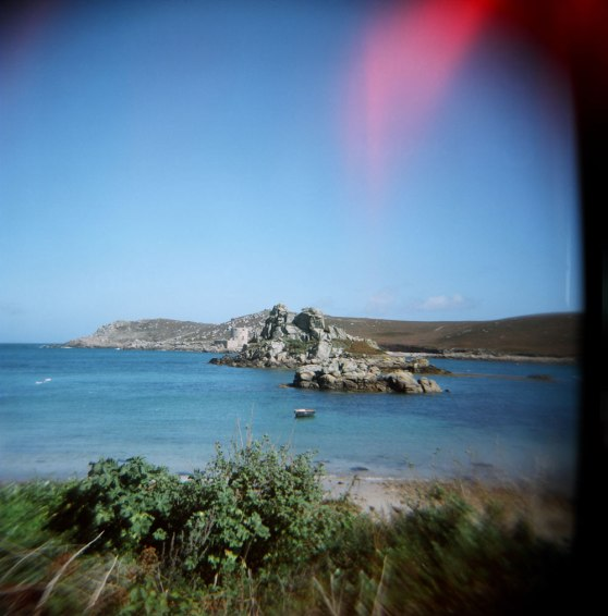 Isles of Scilly, England | Taken on a Holga 120N film camera