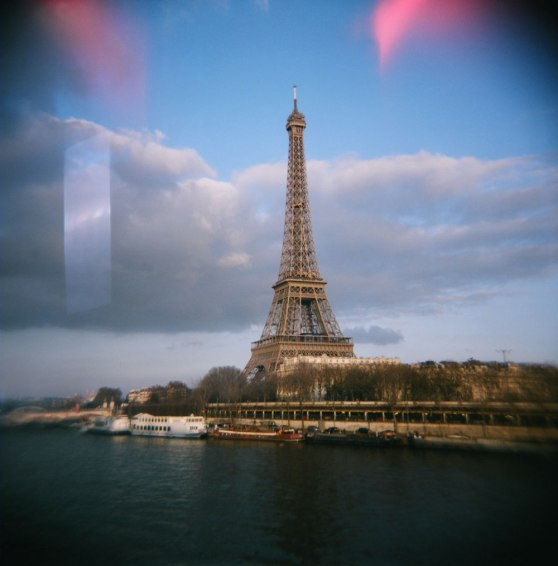 Eiffel Tower, Paris, France | Taken on a Holga 120N film camera