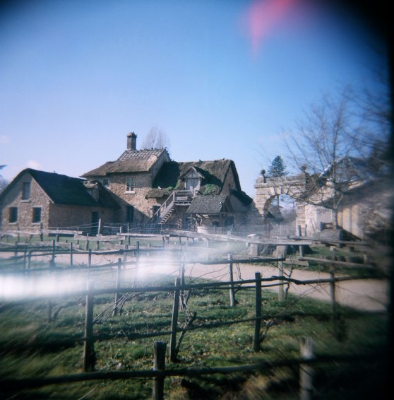 Marie-Antoinette's hamlet at the Palace of Versailles, Paris, France | Taken on a Holga 120N film camera