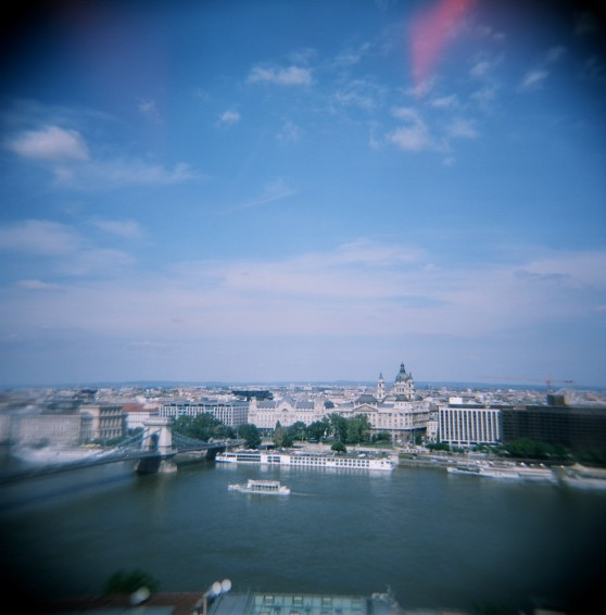 Budapest, Hungary on 120 colour film (taken with Holga 120N)